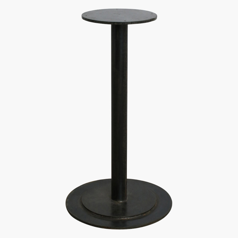 Table base round black