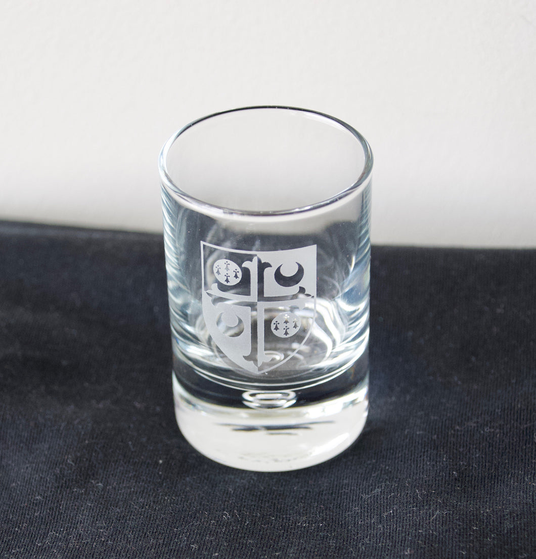 Girton Shield Shot Glass