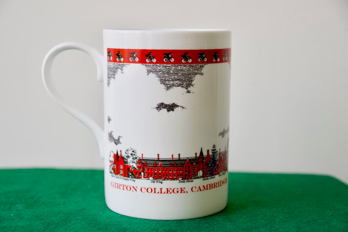 Girton College Bone China Mug