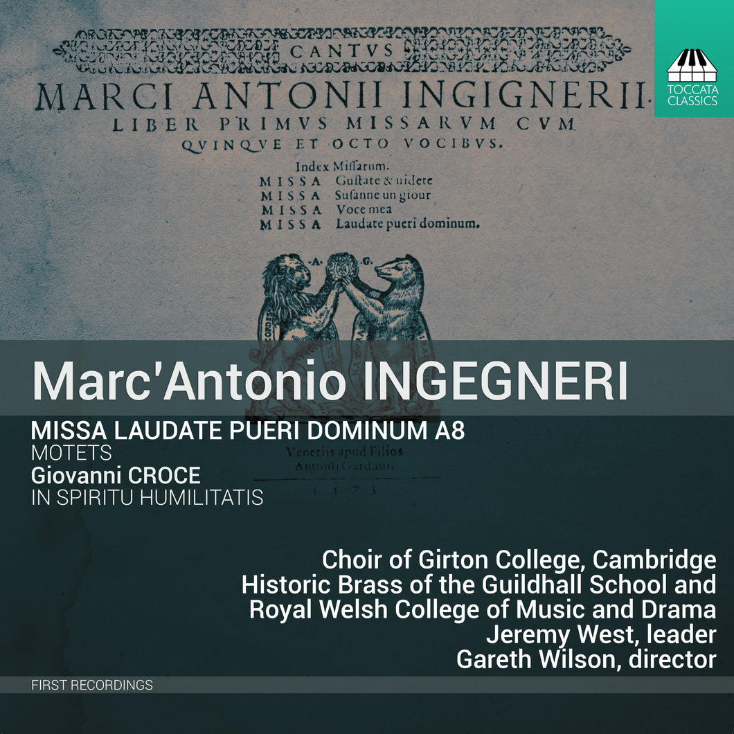 Choir CD - Marc'Antonio Ingegneri