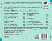 Load image into Gallery viewer, Choir CD - Manuel Cardoso