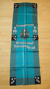 Girton and Newnham Banner Silk Scarf