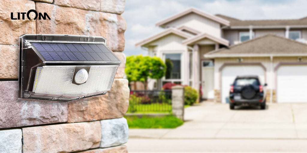 How Do LITOM Outdoor Solar Lights Improve Security?