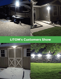 LITOM D-S194 Solar Lights Outdoor(30 LED)