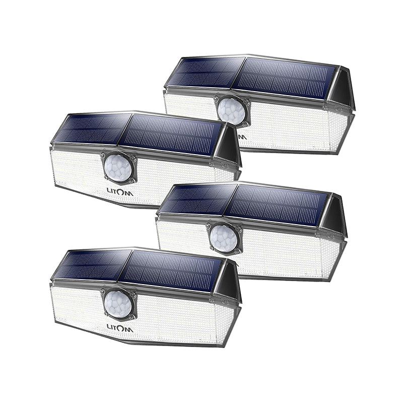 LITOM  B-M207 Solar Lights Outdoor(120 LED)