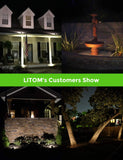 litom outdoor solar motion lights