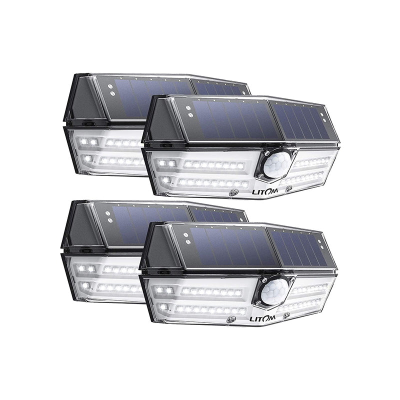 40 LED Solar Lights Outdoor, 3 Optional Modes Wireless Motion Sensor Solar Light