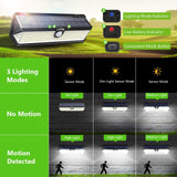 LITOM C-L196 Solar Lights Outdoor(122 LED)