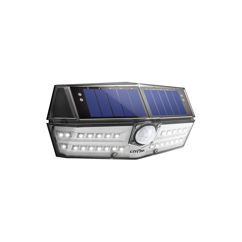 LITOM B-S137 Solar Lights Outdoor(30 LED)