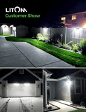 LITOM B-M231 Solar Lights Outdoor(120 LED)