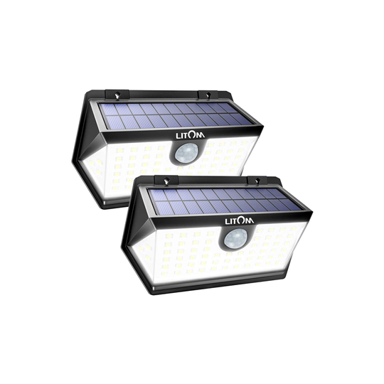 LITOM C-M184 Solar Lights Outdoor(63 LED)