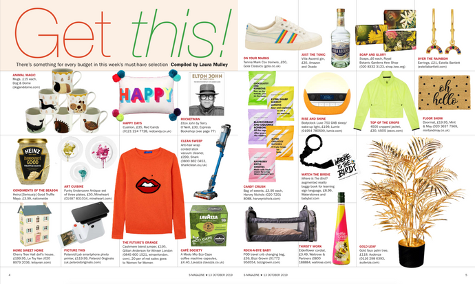 Get This! The Bizzi Growin Travel Pod Appears in S Magazine.