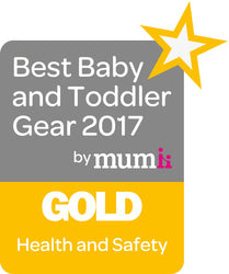 Best Baby and Todler Gear 2017 Gold Award