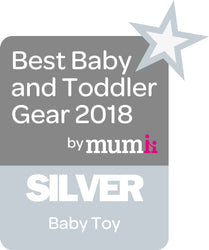 Best Baby and Todler Gear 2018 Silver Award