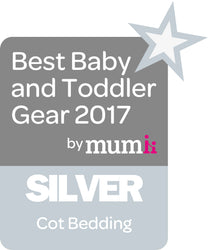 Best Baby and Todler Gear 2017 Silver Award