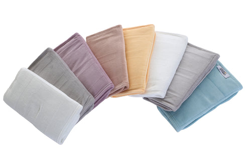 Bumper wraps suitable for cot and cot bed in beautiful soft velvet .