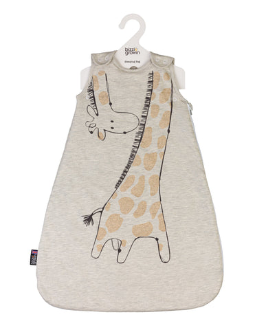 Baby Sleeping Bag Gilbert Giraffe  0-6month. 2.5 Tog