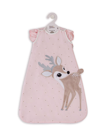 Baby Sleeping Bag Felicity Fawn 0-6 months. 2.5 Tog