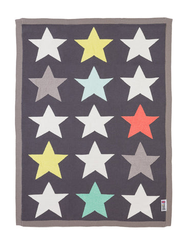 Superstar Knitted Blanket