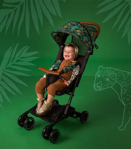 Jungle Roar Stroller - folding buggy lightweight as easy to use