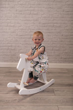 Load image into Gallery viewer, Muslin Romper Suit 12-24 Month Dinoriffic