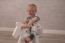 Load image into Gallery viewer, Muslin Romper Suit 18-36 Months Dinoriffic