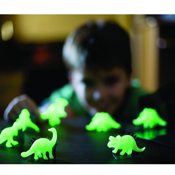 4M Decoración Stickers Dinosaurios Fosforescentes 3D 00-05426
