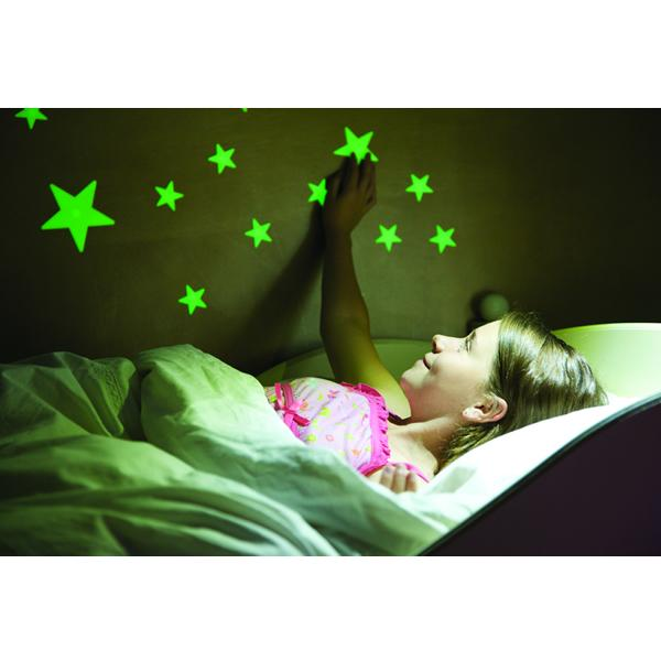 4M Decoración Stickers Mini Estrellas Fosforescentes 3D 00-05221