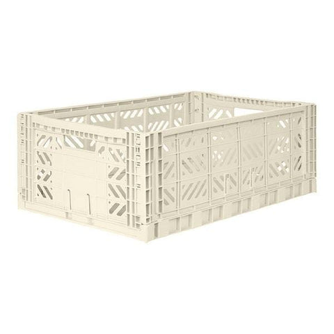 AYCASA Decoración Caja plegable MAXI CREAM - AY-KASA MAXI-CREAM