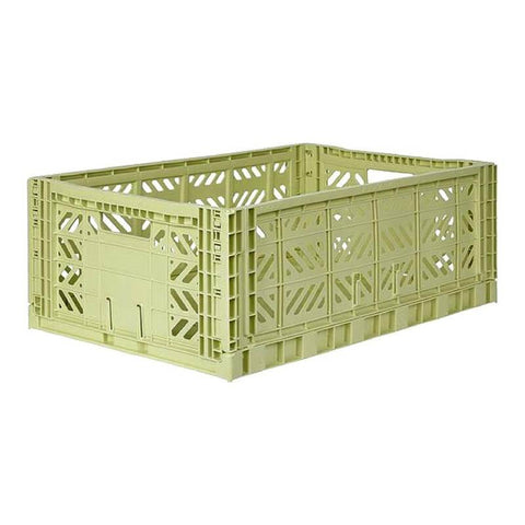 AYCASA Decoración Caja plegable MAXI LIME CREAM - AY-KASA AYKASA MAXI LIME CREAM