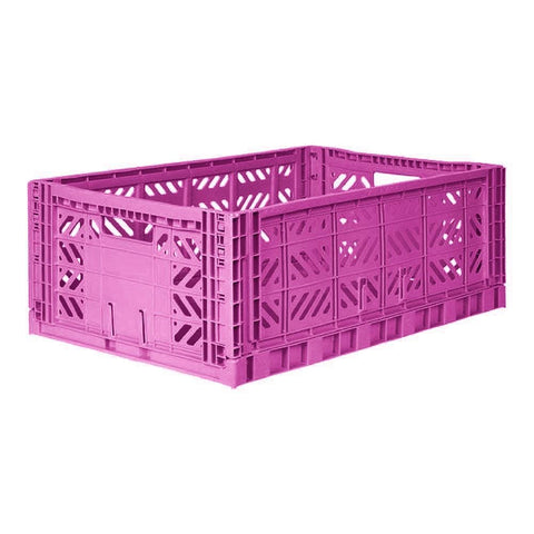 AYCASA Decoración Caja plegable MAXI PURPLE - AY-KASA AYKASA MAXI PURPLE