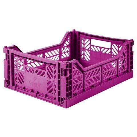 AYCASA Decoración Caja plegable MIDI PURPLE AY-KASA AYKASA MIDI PURPLE