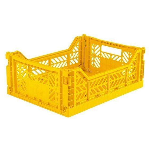 AYCASA Decoración Caja plegable MIDI YELLOW - AY-KASA AYKASA MIDI YELLOW