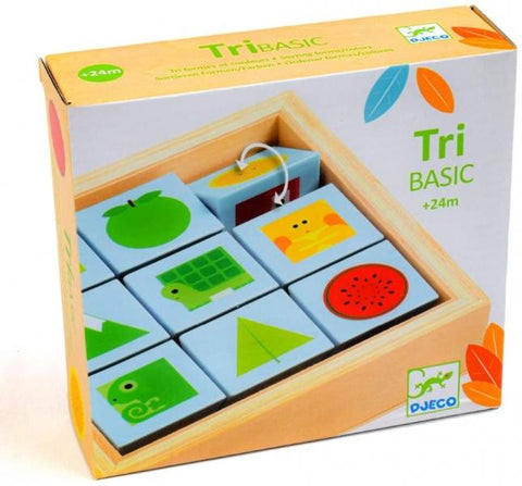 DESIGN BY Arte y Manualidades Puzzle TriBasic Activity de Djeco