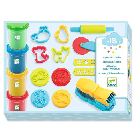 Design By Djeco Arte y Manualidades Set de plasticina: Introduction DJ09755