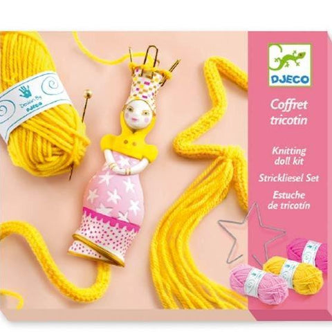 Design By Djeco Arte y Manualidades Set para tejer Princess French Knitting DJ09834