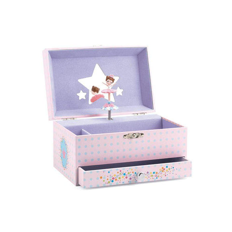 DJECO Decoración Caja Musical Ballerinas Tune DJ06597