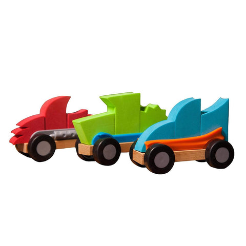 Fat brain toys Transportes +2 Autos ModMobiles FA108-2