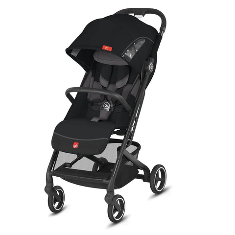 GB Coche Coche de Paseo compacto Qbit Plus All City Velvet Black GB619000151