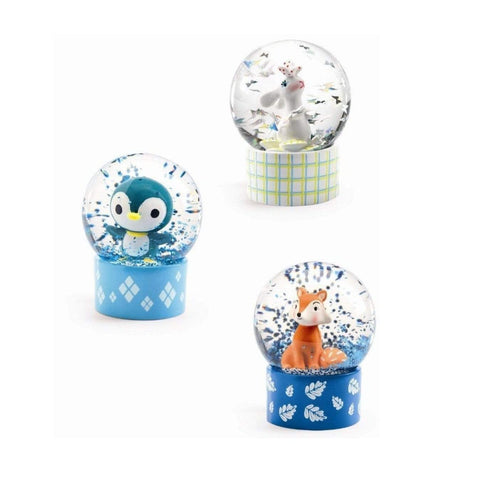 Little Big Room Decoración Bola de Nieve decorativa So Wild DD03442