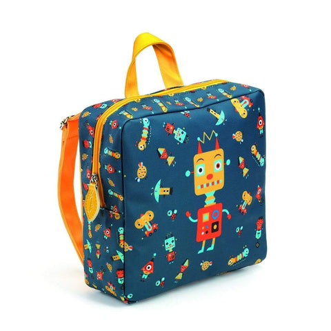 Little Big Room Mochila Mochila con Estampa de Robot DD00253