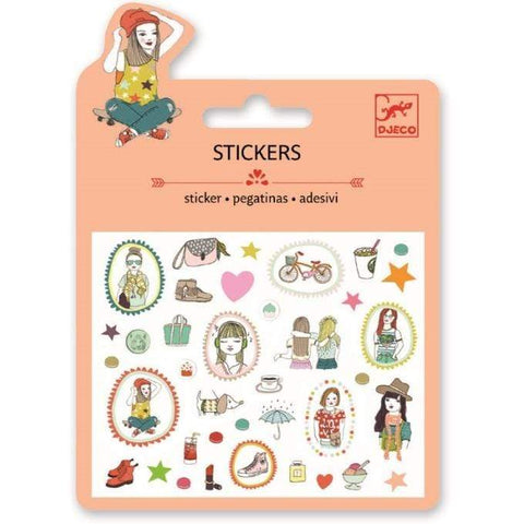 Lovely Paper Arte y Manualidades Stickers Fashion Glitter DJ09779