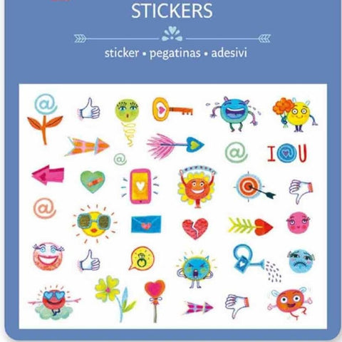 Lovely Paper Arte y Manualidades Stickers Symbols Puffy DJ09777