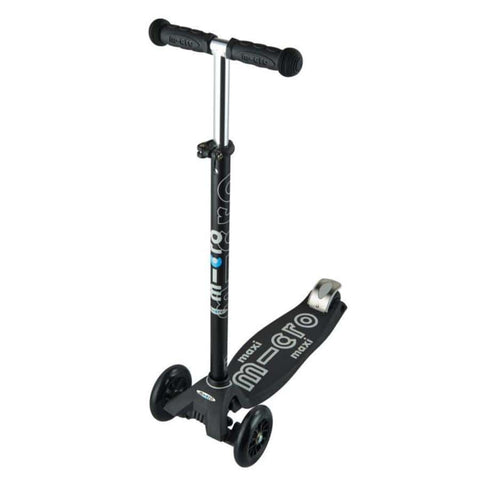 Micro Scooter +5 Maxi Micro Deluxe Negro/Gris MMD069