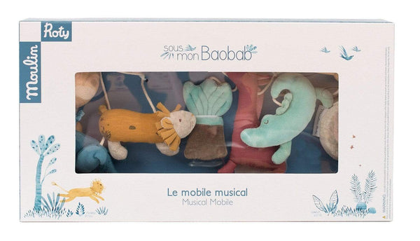 MOULIN ROTY Decoración Móvil Musical Baobab 669056