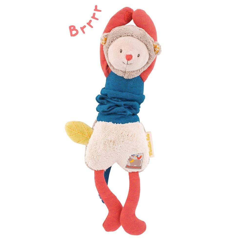 MOULIN ROTY Peluches Peluche Mono que vibra 658062