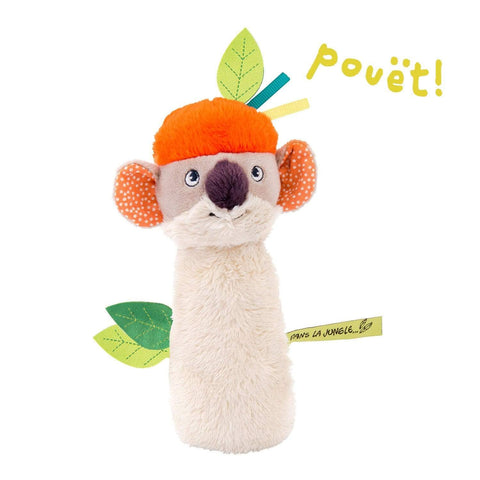 MOULIN ROTY Peluches Sonajero Bocina Koala de Dans la Jungle 668004