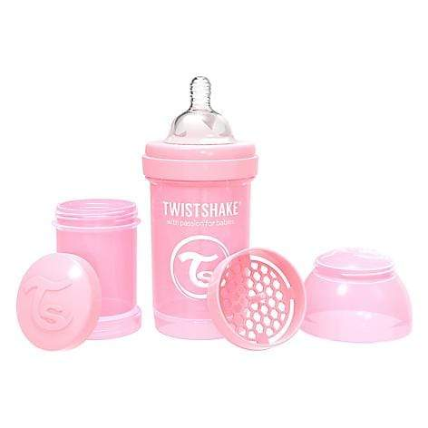 Twistshake Lactancia Mamadera anti-cólico 180 ml Rosada TS166