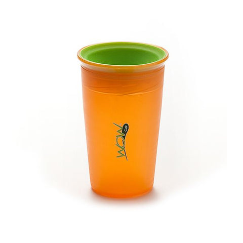 WOW CUP Alimentación Vaso Wow Cup Antiderrame Naranjo 266 ml. JUICY NARANJO
