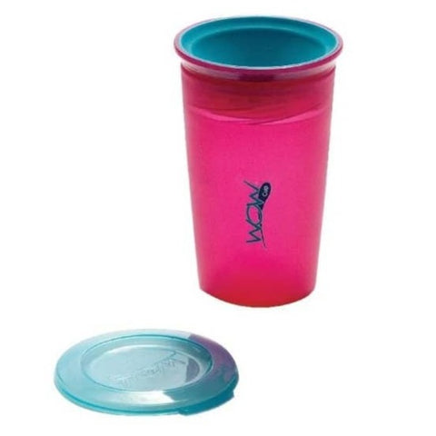 WOW CUP Alimentación Vaso Wow Cup Antiderrame Rosado 266 ml. JUICY ROSADO